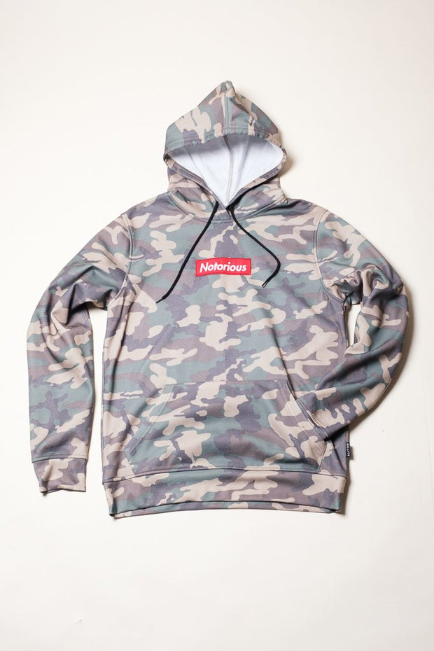 Comfortable Camo Hoodie for Men