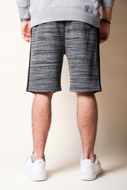 Brooklyn Cloth Black Side Stripe Fleece Shorts