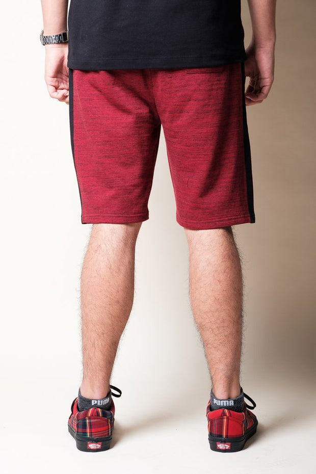 Brooklyn Cloth Burgundy Knit Shorts