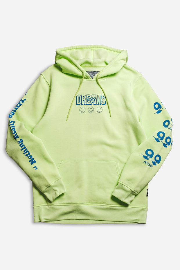 Neon Green 99 Cent Dreams Hoodie