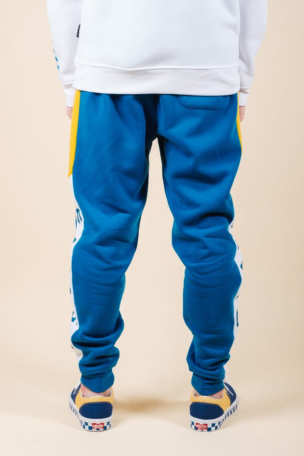 Brooklyn Cloth Savage Color Blocked Jogger Pants for Men