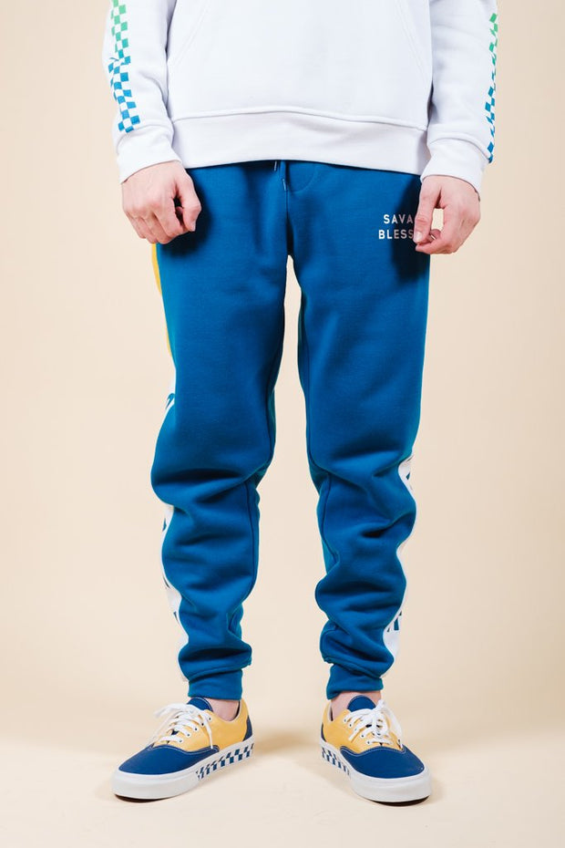 Savage Color Blocked Jogger Pants
