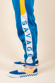 Men's Savage Color Blocked Jogger Pants