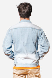 Stone Wash Denim Jacket