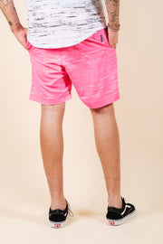 Brooklyn Cloth Pink Streaky Swim Trunks