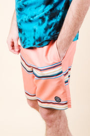 Men's Multi Striped Swim Trunks