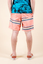 Brooklyn Cloth Multi Striped Swim Trunks