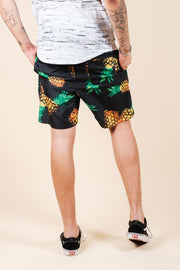 Brooklyn Cloth Pineapple Print Swim Trunks