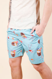 Brooklyn Cloth Tropical Theme Swim Trunks