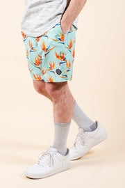 Men's Birds of Paradise Swim Trunks