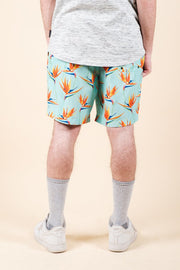 Brooklyn Cloth Birds of Paradise Swim Trunks for Men