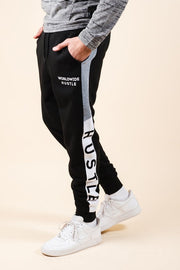 Hustle Color Blocked Jogger Pants