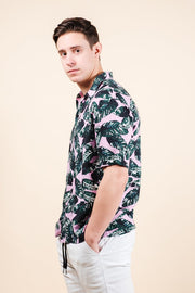 Men's Shop the Palm Tree Leaves Woven Shirt