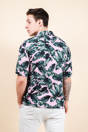 Brooklyn Cloth Shop the Palm Tree Leaves Woven Shirt