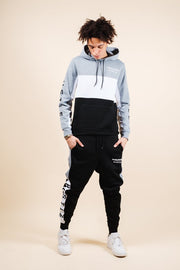 Brooklyn Cloth Hustle Color Block Hoodie for Men