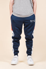 Brooklyn Color Blocked Jogger Pants for Men