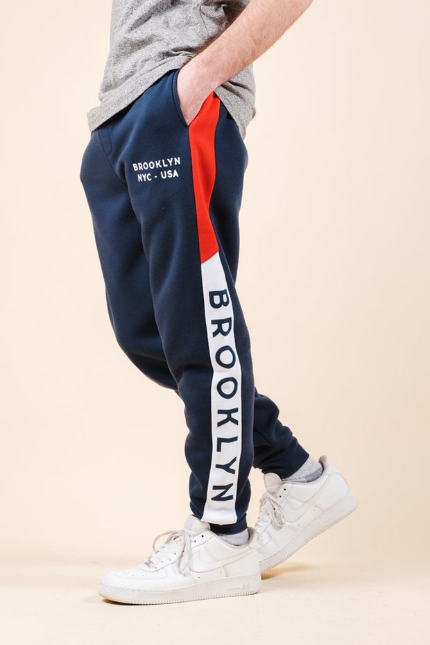 Brooklyn Color Blocked Jogger Pants