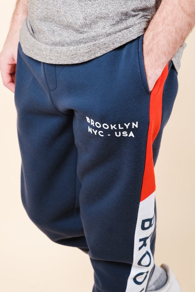 Men's Brooklyn Color Blocked Jogger Pants
