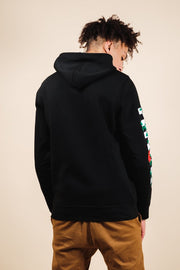 Brooklyn Cloth Black Rose Checkered Hoodie
