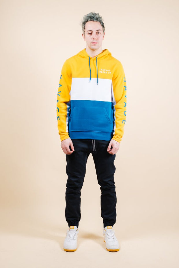 Brooklyn Cloth Savage Color Blocked Hoodie for Men