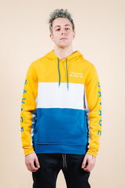 Savage Color Blocked Hoodie for Men