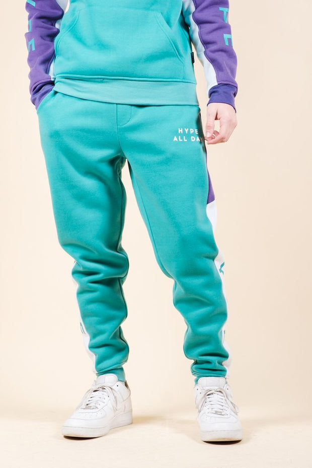 Hype Color Blocked Jogger Pants for Men