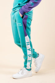Hype Color Blocked Jogger Pants