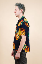 Men's Exploded Pineapple Woven Shirt