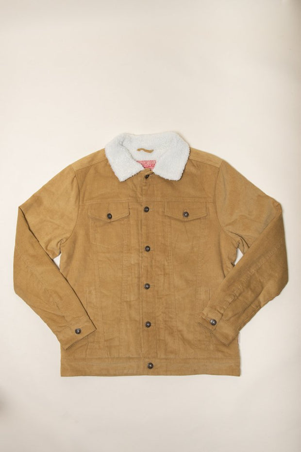 Sherpa Lined Trucker Jacket for men