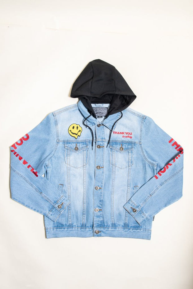 Men's Thank You Denim Jacket