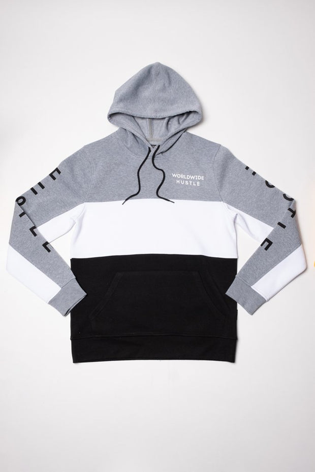 Hustle Grey Hoodie for Men
