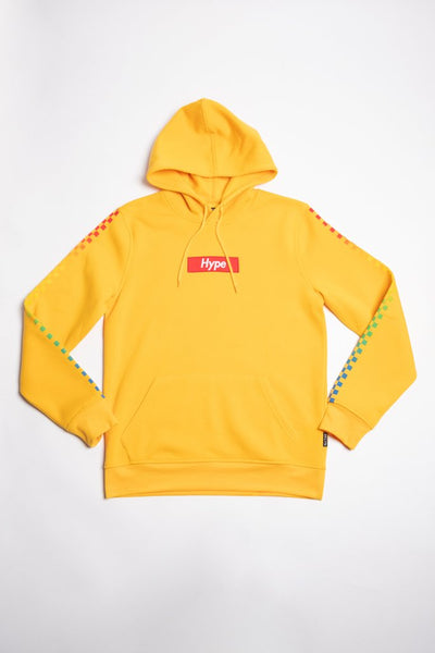 Hype Yellow Pullover Hoodie