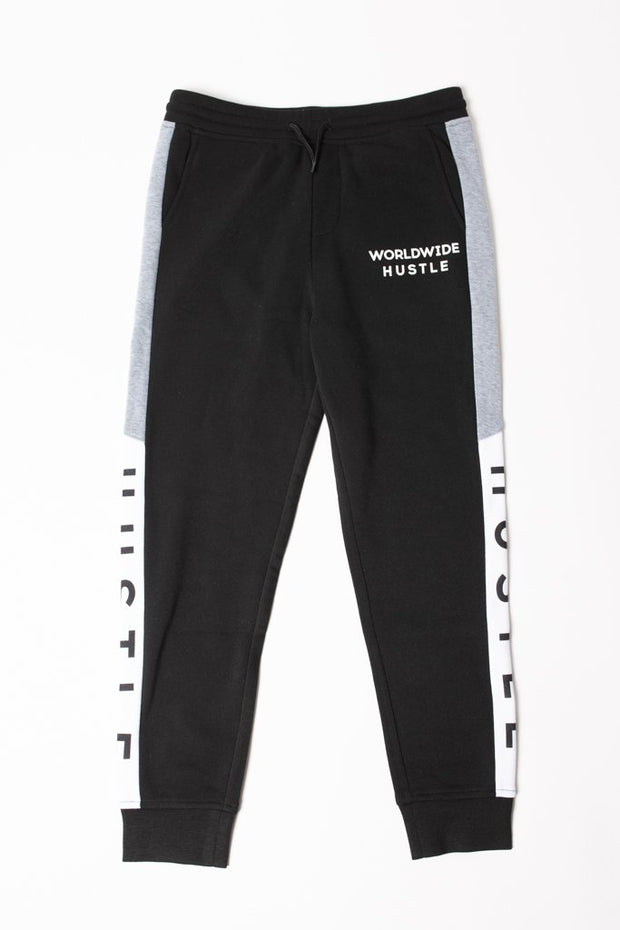 Boys Hustle Color Blocked Jogger Pants