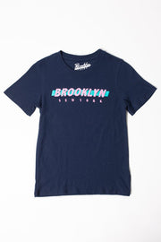 Boys Brooklyn Navy Graphic Tee