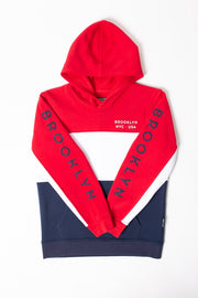 Boys Brooklyn Color Blocked Hoodie