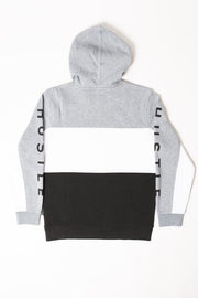 Boys Hustle Color Blocked Hoodie