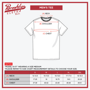 Men's shirt size chart