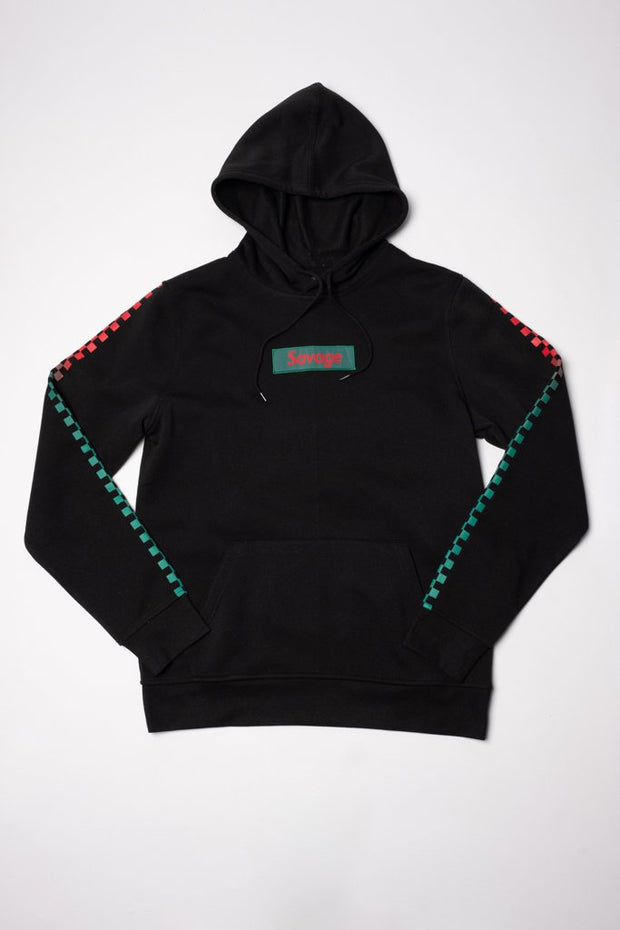 Black Savage Poly Fleece Hoodie