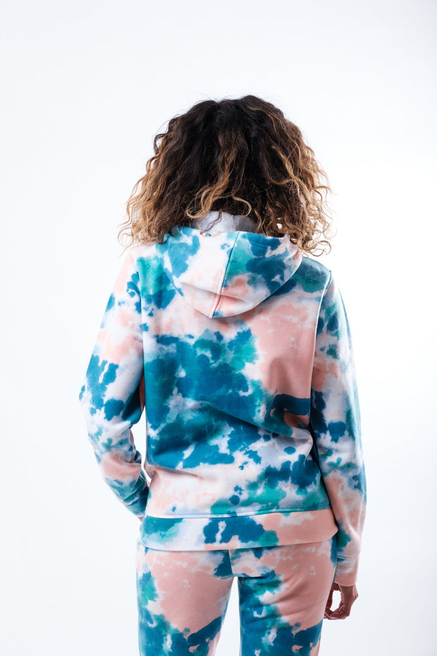 Women's Cotton Candy Tie Dye Hoodie