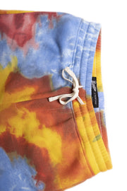 Warm Tie Dye Fleece Shorts