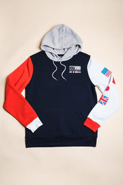 Men's Savage Color Block Hoodie