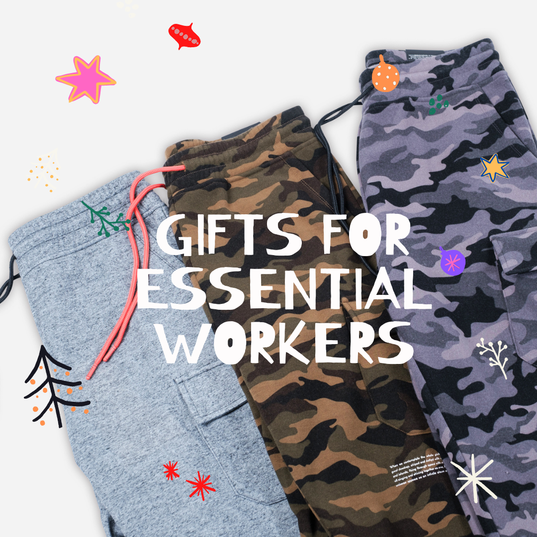 Holiday Gifts for Essential Workers by Brooklyn Cloth