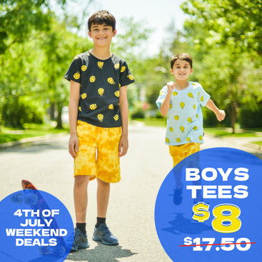 Kids Fourth of July Sale event