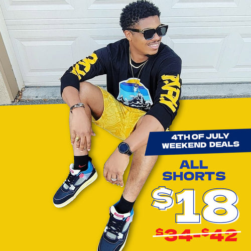 $18 SHORTS for men and women
