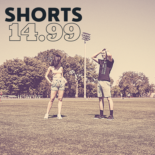 $14.99 Shorts for men and women