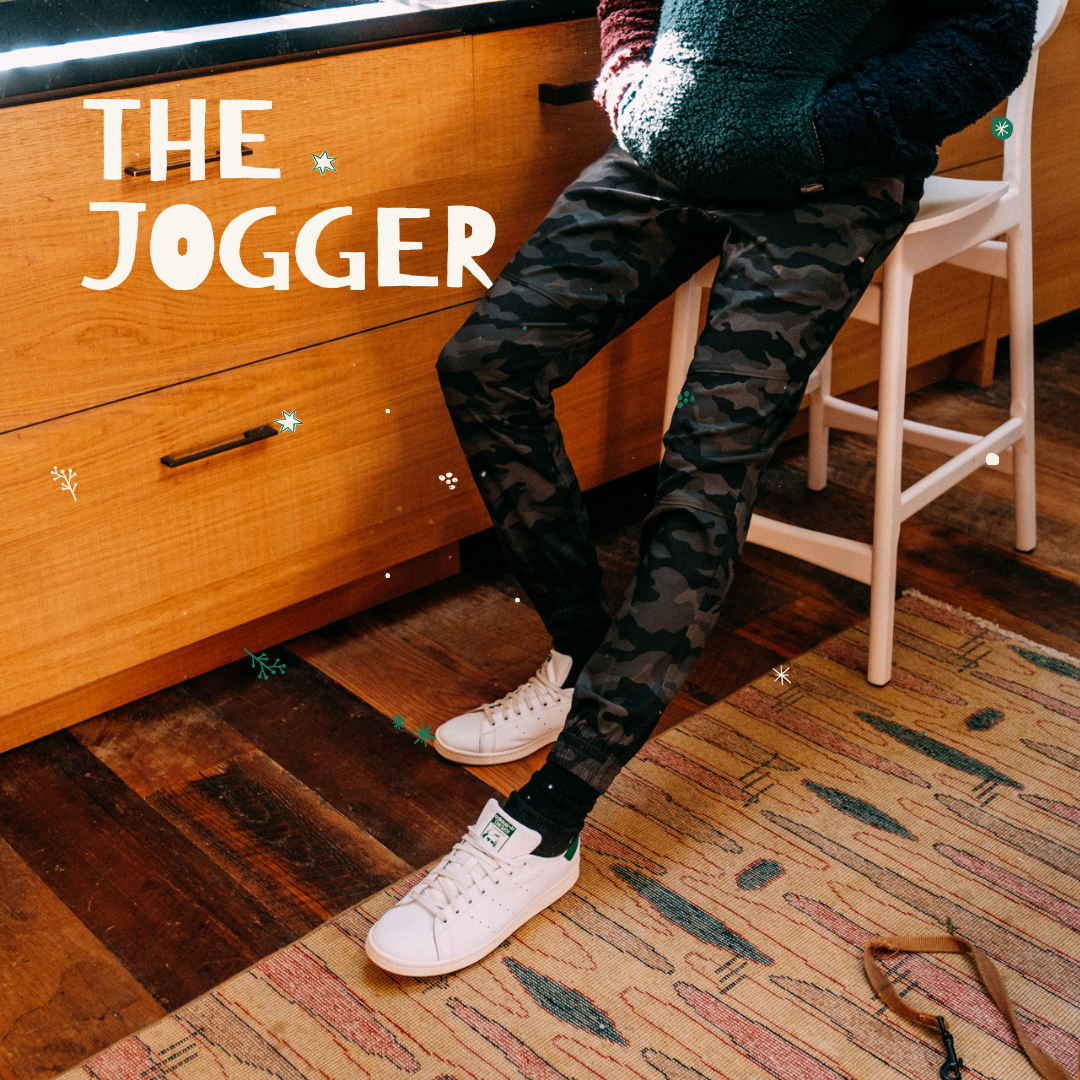 Men's Jogger Gifts by Brooklyn Cloth
