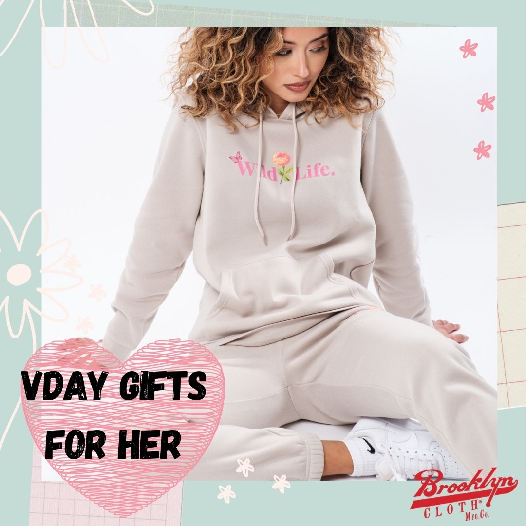 Valentine's Gifts for Her by Brooklyn Cloth