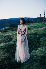 Portland Rose Sweetheart Bodice Gown