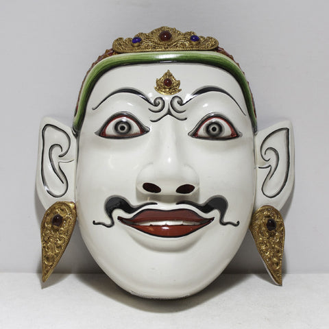 "Rama Mask, the ""Good Prince"""