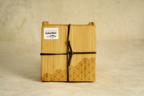 Bamboo Wave Coasters